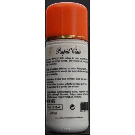 Lotion Rapid Lotion Malam Rapid rapid clair lotion purifiante et 233 claircissante edna