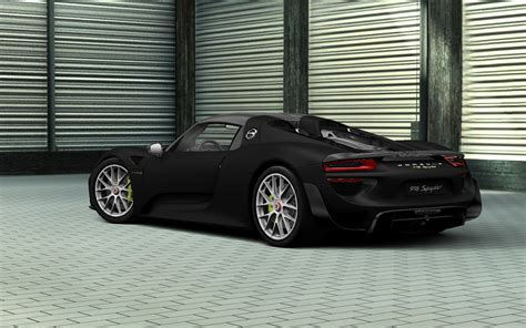 porsche 918 spyder black fresh wallpapers collection for your pc and phone on