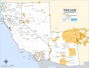 tribal lands maps air quality analysis pacific
