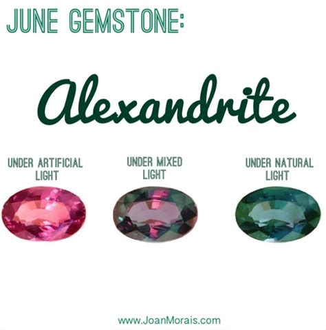 what do different colours mean joan morais naturalsjune gemstone alexandrite joan