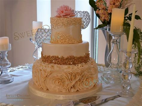 Where Can I Buy Wedding Cake Decorations by How To Make Gold Pearls Or Dragee For Cake