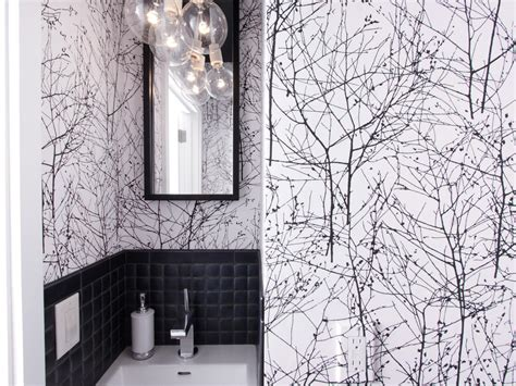 black and white wallpaper for walls photos hgtv