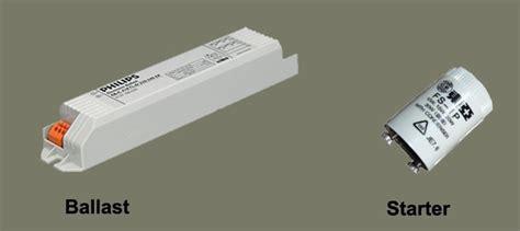 light starter fluorescent light how it work need of ballast starter