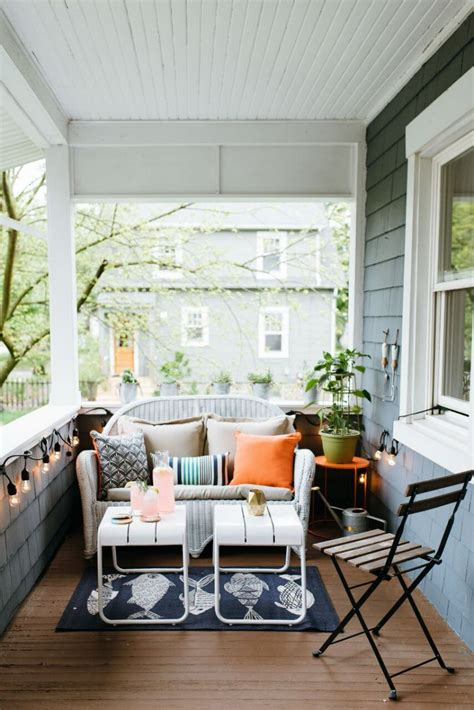 decorating front porch with lights inspiration how to decorate a porch the inspired room