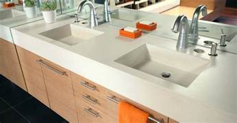 one bathroom sink counter concrete sinks and vessels the concrete network