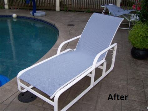 grandle patio furniture kevin from ct chose our sea fabric for his brown
