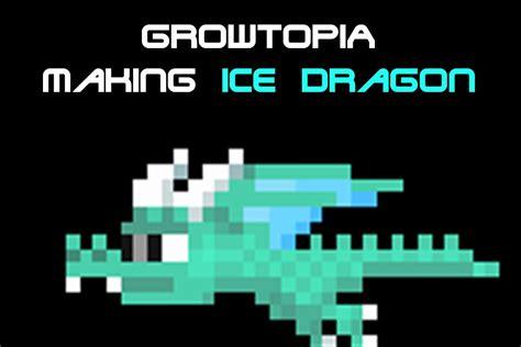 growtopia recipe grow topia recipe growtopia making ice dragon youtube