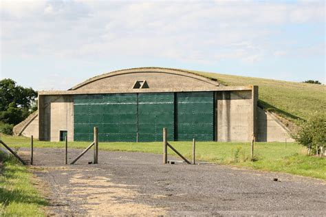 Aircraft Shed by Type E Aircraft Storage Shed