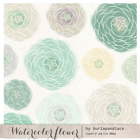 shabby chic flowers clipart 59