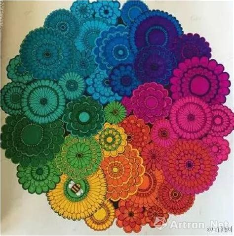 secret garden coloring book owl 图集 涂色书 秘密花园 火爆 看读者如何脑洞大开 艺术收藏 人民网