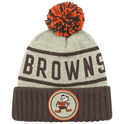 cleveland browns knit hat knitting hats tag hats
