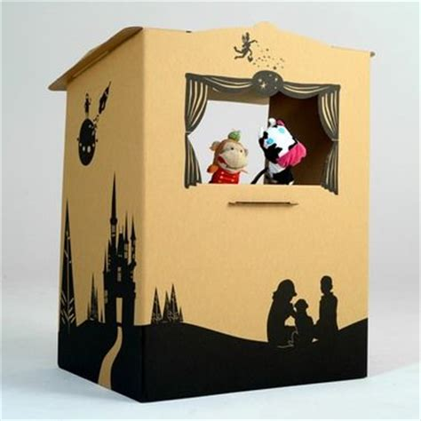 How To Make A Puppet Out Of A Paper Bag - puppet theatre so cool for imagination make out of
