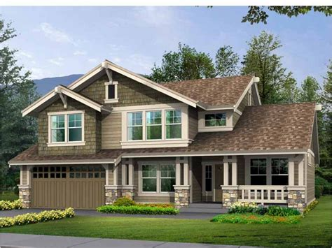 eplans craftsman house plan compact footprint with