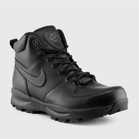 nike manoa leather black
