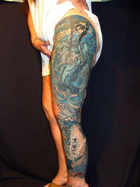 1 4 sleeve tattoo best 25 leg tattoos ideas on leg