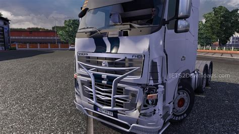 2009 volvo truck crashed volvo fh 2009 euro truck simulator 2 mods