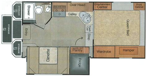 slide in cer floor plans dream cer floor plan contest part 1