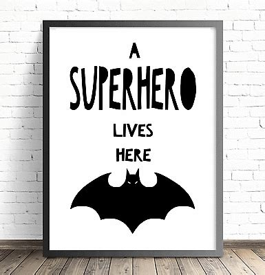 free printable batman wall art superhero batman nursery wall art print boys bedroom