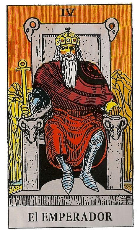 preguntas directas al tarot el emperador carta iv del tarot arcano mayor