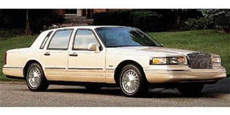 automotive service manuals 1997 lincoln town car head up display 1997 lincoln town car pictures photos gallery green car reports