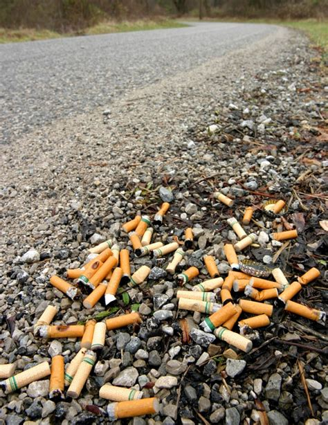Yay Or Nay Fines For Ciggy Litter by Steve Woods 2015 May