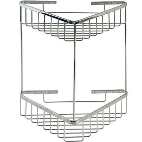 portaoggetti bagno portaoggetti per bagno in acciaio inox doppio pratiko store