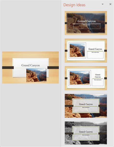 Create Professional Slide Layouts With Powerpoint Designer Powerpoint Design Ideas