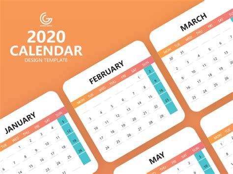 calendar  design template  psd ui