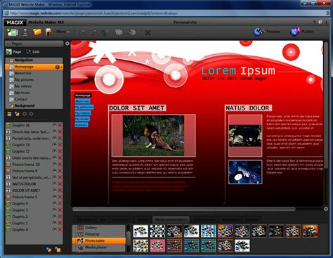 html design tool free download magix website maker mx design illustration downloads