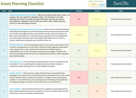 Event Planning Checklist To Keep Your Event On Track Event Planning Manual Template