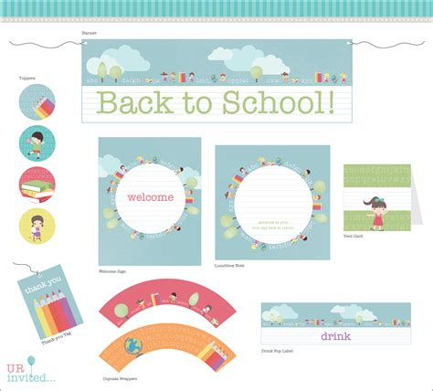 Free Printable School Worksheets by Free Back To School Printable From Urinvited Catch My