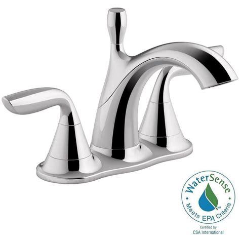 kohler willamette 4 in centerset 2 handle water saving