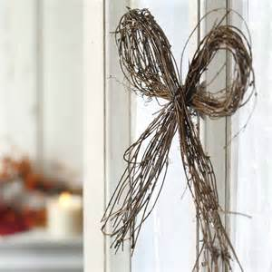 Twig Home Decor by Natural Twig Grapevine Bow Wall Decor Home Decor