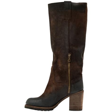 brown quot moro quot suede classic knee high boots