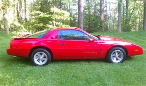 how petrol cars work 1991 pontiac firebird electronic valve timing 1991 pontiac firebird formula ws6 same to trans am iroc z28 61 000 miles for sale photos