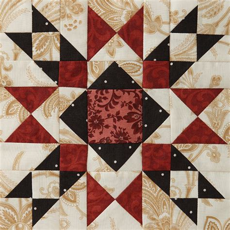 American Patchwork Quilting - block of the month block 4 allpeoplequilt