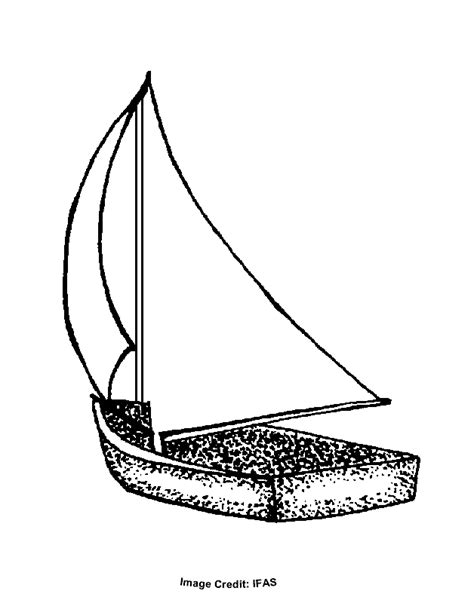 sailboat template for preschool sailboat coloring pages preschool coloring pages