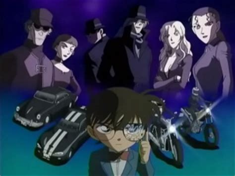 Spesial Detektif Conan Vs Of The Black Organization 02 black organization detective conan wiki fandom powered