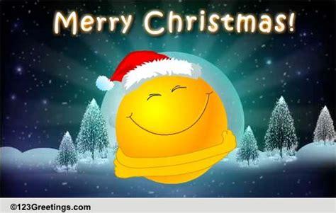 christmas smiley hugs  merry christmas wishes ecards