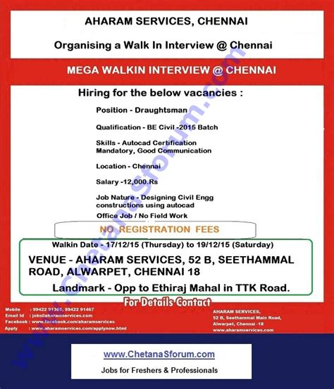 Government For Mba Freshers In Chennai by Freshers Mnc Company Cus Be B Tech