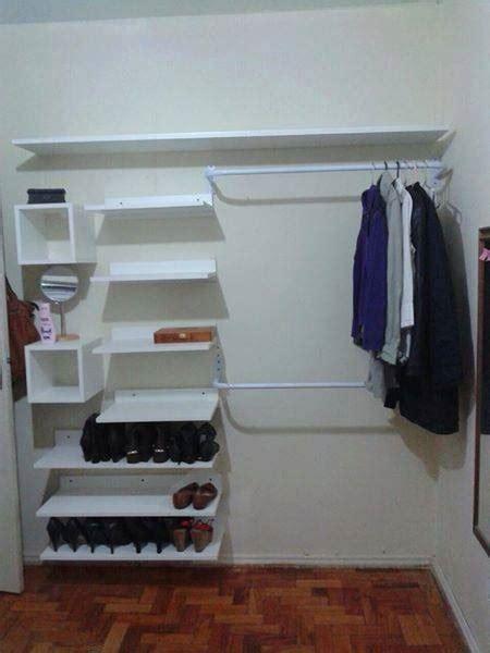 um armario a forma de um 45 ideias de closet pequeno e barato para voc 234 aplicar na