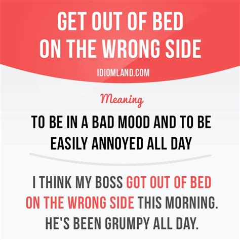 wrong side of the bed get up on the wrong side of the bed 1000 images about