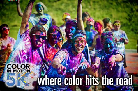 color run dallas color in motion 5k dallas race entry giveaway the