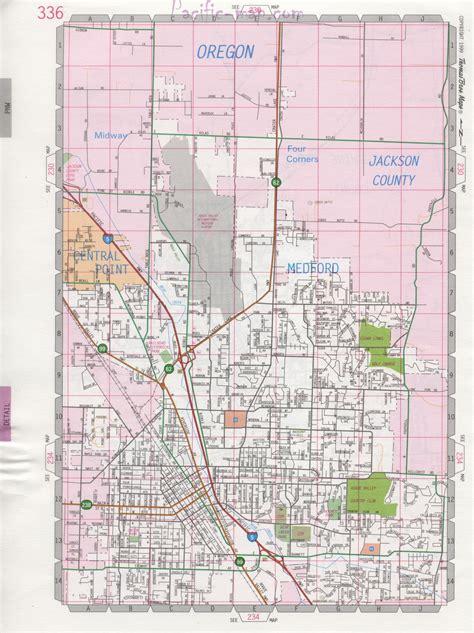 map of medford oregon medford road map