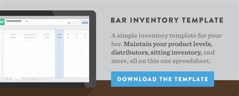 How To Calculate Inventory Usage The Consumption Formula Bevspot Inventory Template