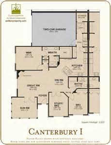 Epcon Canterbury Floor Plan by Models The Villas At Easthampton Epcon Communities