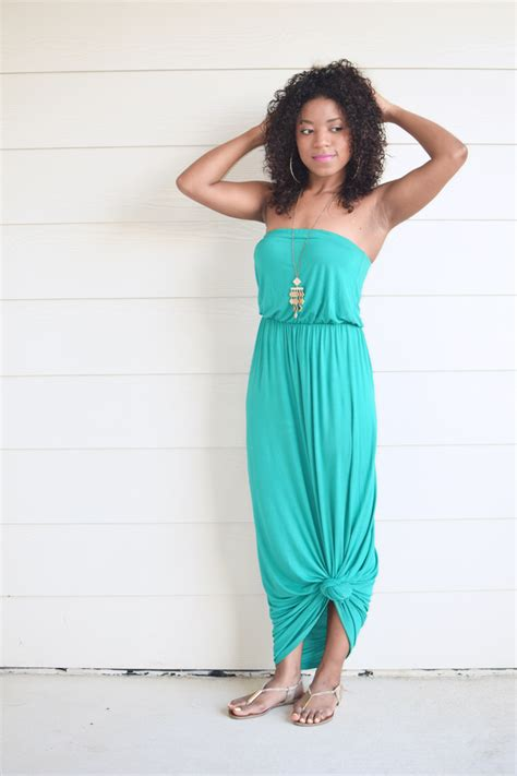 Maxi Dress To Tie At Bottom by The Summer Maxi Dress