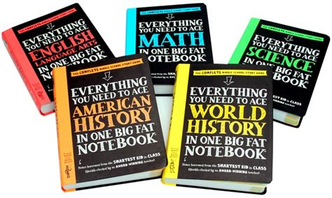 everything you need to ace everything you need to ace in one big notebooks groupon