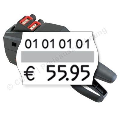 Etiketten Contact by Preisauszeichner Contact 26 16 14 Zweizeilig F 252 R 26x16mm