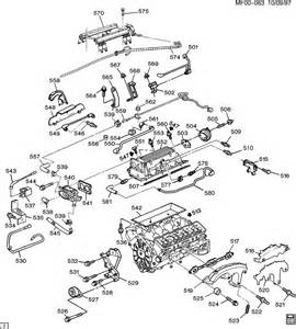 engine asm 5 7l v8 part 5 manifolds fuel related parts
